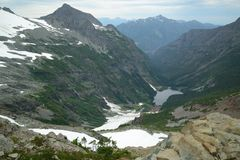 Strathcona provincial park in BC Royalty Free Stock Photos