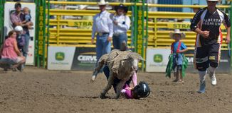 Strathmore Stampede , Alberta , Canada Stock Images