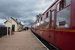 Strathspey Steam Railway Stock Photo