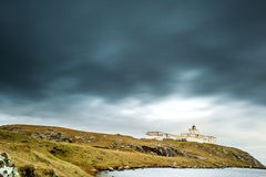Strathy Point Lighthouse, Caithness Royalty Free Stock Image