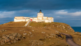Strathy Point Lighthouse, Caithness Royalty Free Stock Photography