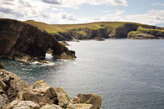 Strathy Point, Scotland royalty free stock photography
