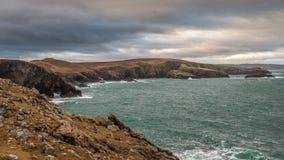 Strathypunt, het Noordenkust van Schotland royalty-vrije stock fotografie
