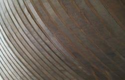 Strati concreti curvi e grigi - fondo astratto Fotografia Stock