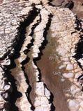 Strati d'erosione 3 Immagine Stock Libera da Diritti