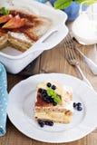 Strati del pane del grano intero di Appele Immagine Stock