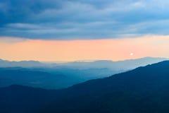 Strati dell'alta montagna Immagine Stock Libera da Diritti