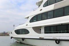 3 strati dell'yacht del lusso Immagine Stock Libera da Diritti