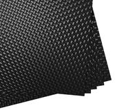 Strati della fibra del carbonio Fotografia Stock Libera da Diritti