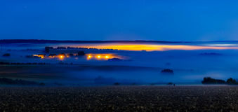 Strati della nebbia Immagine Stock Libera da Diritti