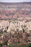 Strati della roccia Immagine Stock