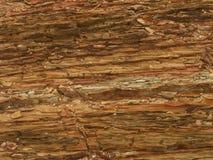 Strati della roccia Fotografie Stock Libere da Diritti
