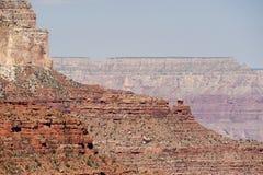 Strati della roccia del grande canyon Immagine Stock