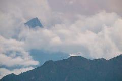 Strati delle dolomia della montagna Fotografia Stock Libera da Diritti