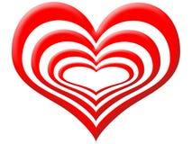 Strati di amore Immagini Stock