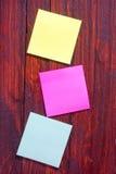 Strati di colore Fotografia Stock
