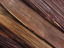 Strati di impiallacciatura di legno Immagini Stock Libere da Diritti