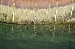 Strati di marea Immagine Stock