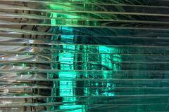 Stratified glass background Royalty Free Stock Photos