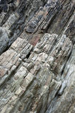 Stratified Rocks Royalty Free Stock Photos