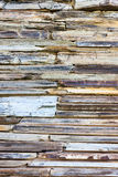 Stratigraphic close up material stone natural cracked texture Royalty Free Stock Photography