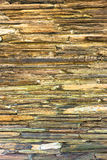 Stratigraphic close up material stone natural cracked texture Royalty Free Stock Image