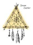 Stration - coletor ideal Elemento tribal do projeto Imagem de Stock