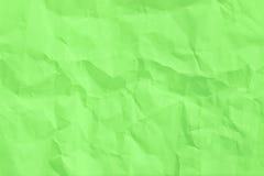 Strato corrugato di Libro Verde Fotografia Stock