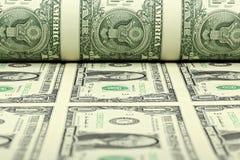 Strato del dollaro americano Immagine Stock Libera da Diritti