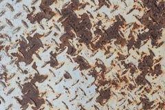 Strato del ferro della pittura della crepa Fotografia Stock Libera da Diritti