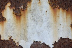 Strato del ferro della ruggine Fotografie Stock Libere da Diritti