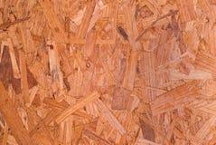 Strato del legname di OSB per gli ambiti di provenienza Fotografia Stock