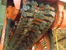 Strato del tubo - dentro Immagini Stock