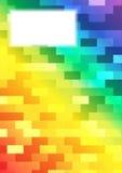 Strato dell'arcobaleno Fotografie Stock Libere da Diritti