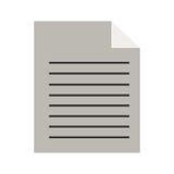 Strato della siluetta con le linee curvatura dell'angolo illustrazione di stock