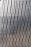 Strato di alluminio perforato per l'industriale che guarda fondo Immagine Stock Libera da Diritti