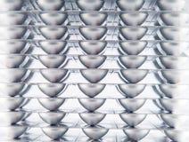 Strato di blister di alluminio Immagine Stock Libera da Diritti