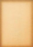 Strato di carta invecchiato reale Immagine Stock