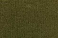 Strato di carta verde scuro Fotografia Stock Libera da Diritti