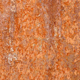 Strato di ferro arrugginito Fotografia Stock Libera da Diritti