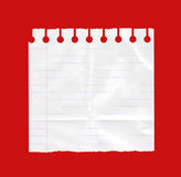 Strato di Libro Bianco Fotografia Stock Libera da Diritti