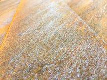 Strato di metallo arrugginito Fotografie Stock