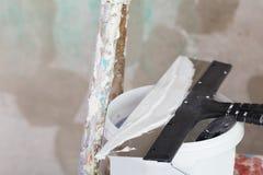 Strato di miglioramento della Camera dello stucco Fotografie Stock Libere da Diritti