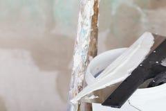 Strato di miglioramento della Camera dello stucco Fotografia Stock Libera da Diritti