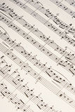 Strato di musica Immagine Stock