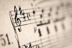 Strato di musica d'annata immagini stock libere da diritti