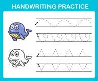 Strato di pratica della scrittura royalty illustrazione gratis