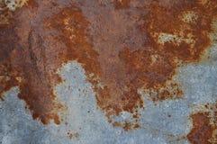 Strato inchiodato del ferro Fotografie Stock