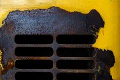 Strato inchiodato del ferro Fotografia Stock Libera da Diritti