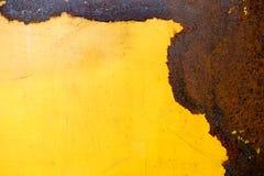 Strato inchiodato del ferro Immagini Stock
